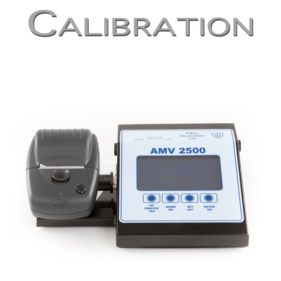 AMV 2500 Welding Monitor Calibration Request