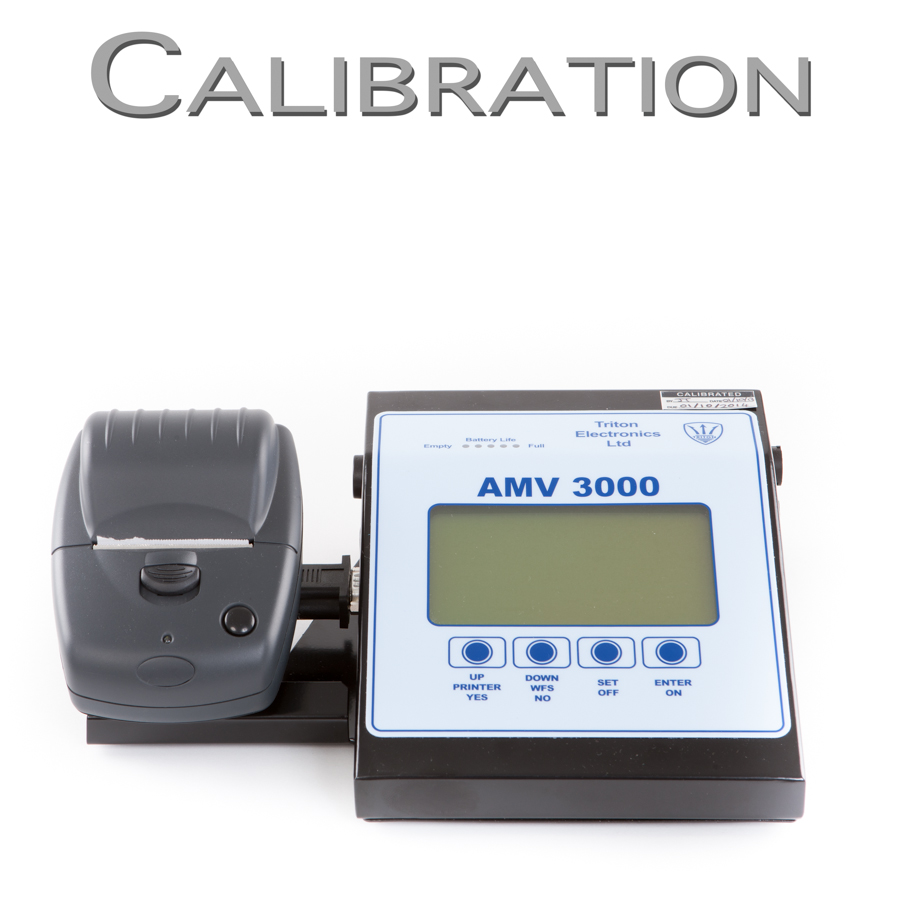 AMV 3000 Welding Monitor Calibration Request