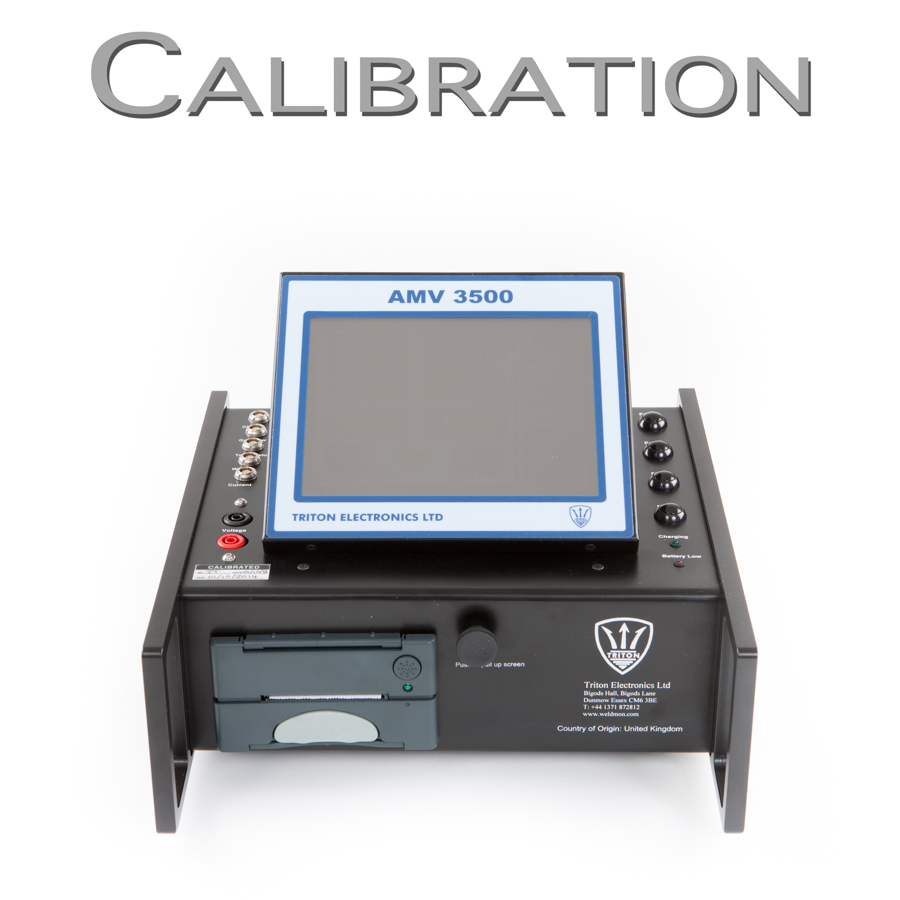 AMV 3500 Welding Monitor Calibration Request