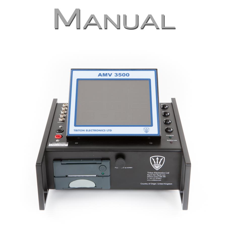 AMV 3500 Welding Monitor Manual