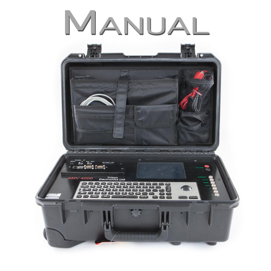 AMV 4000 Welding Monitor Manual