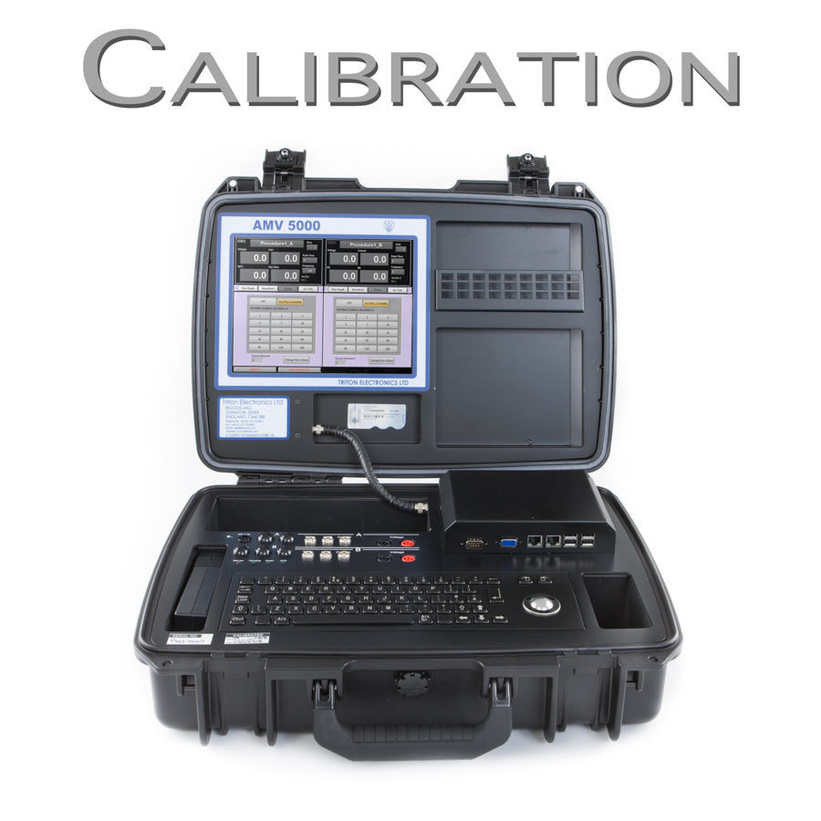 AMV 5000 Welding Monitor Calibration Request