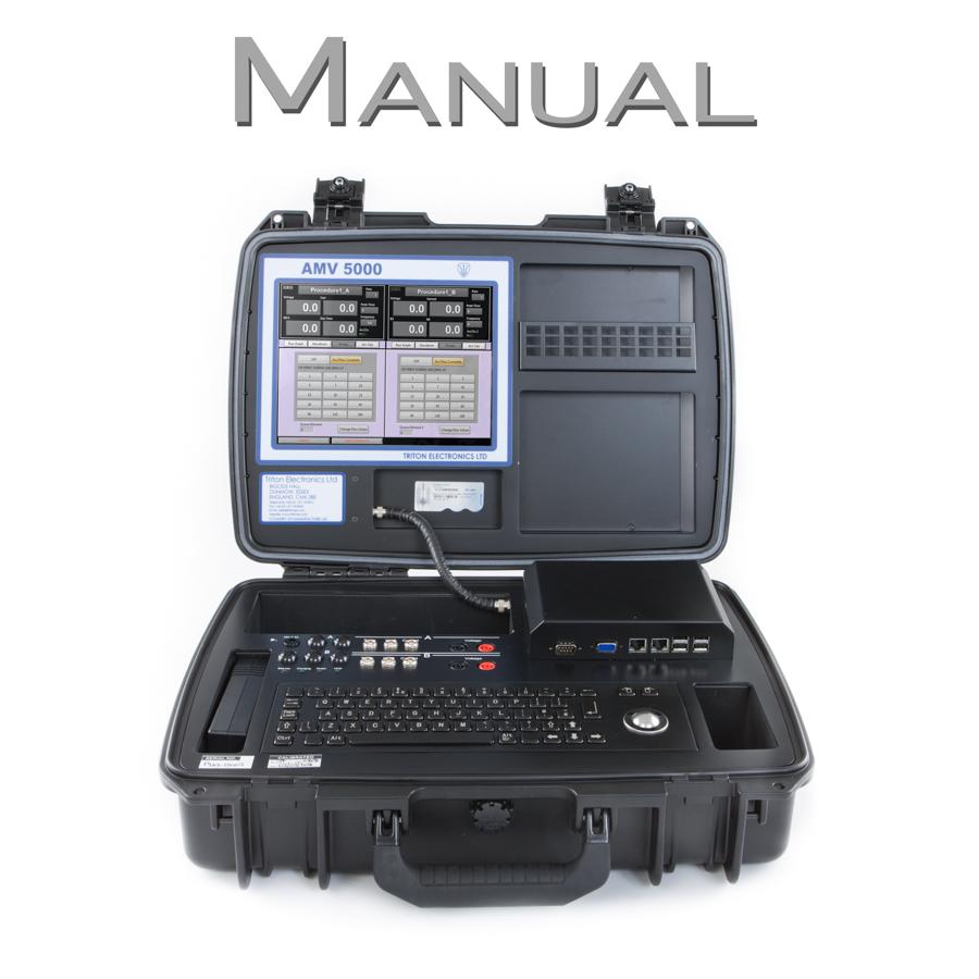 AMV 5000 Welding Monitor Manual